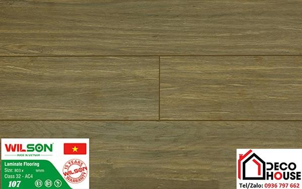 Sàn gỗ Wilson 12mm 107