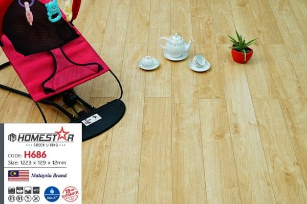 Sàn gỗ công nghiệp Homestar H686