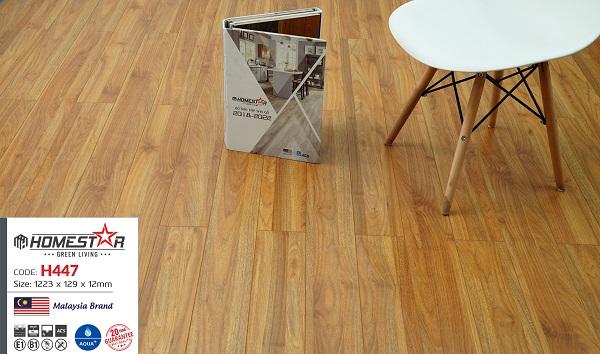 Sàn gỗ Homestar 12ly 447