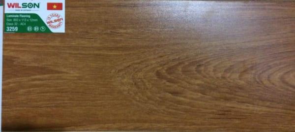 Sàn gỗ Wilson 12mm 3259 mặt bóng