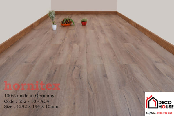 Sàn gỗ công nghiệp Hornitex 10mm 552