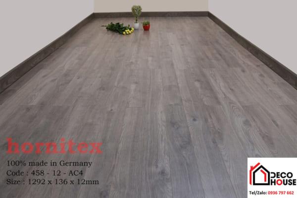 Sàn gỗ công nghiệp 12mm Hornitex 458