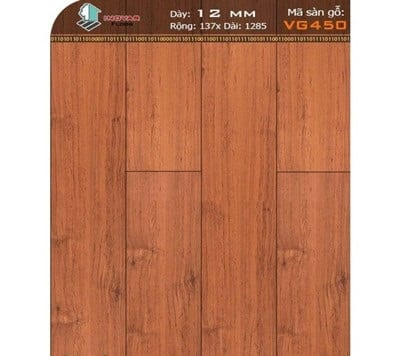 Sàn gỗ inovar 12mm VG450