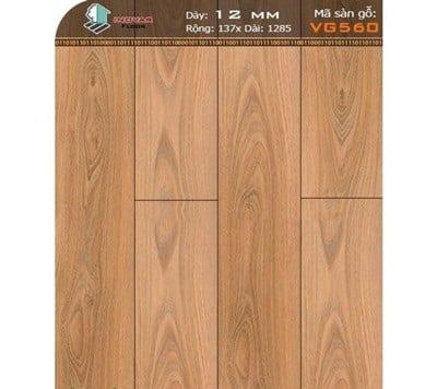 Sàn gỗ inovar 12mm VG560