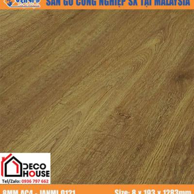 Sàn gỗ công nghiệp 8mm Janmi O121