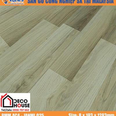 Sàn gỗ công nghiệp 8mm Janmi O25