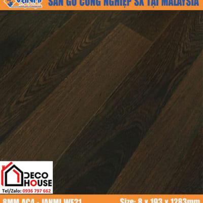 Sàn gỗ công nghiệp 8mm Janmi WE21