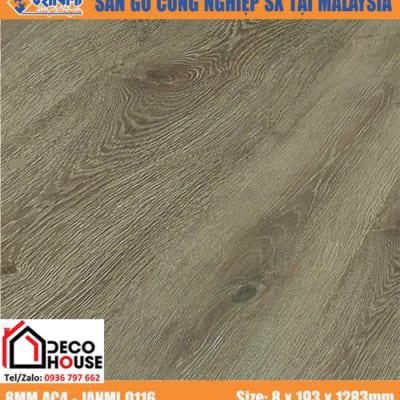Sàn gỗ công nghiệp 8mm Janmi O117