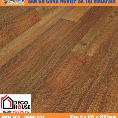 Sàn gỗ công nghiệp 8mm Janmi O24