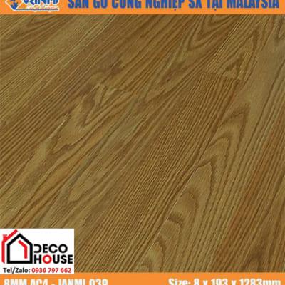 Sàn gỗ công nghiệp 8mm Janmi O39