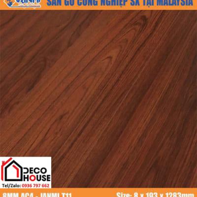Sàn gỗ công nghiệp 8mm Janmi t11