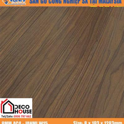 Sàn gỗ công nghiệp 8mm Janmi w15