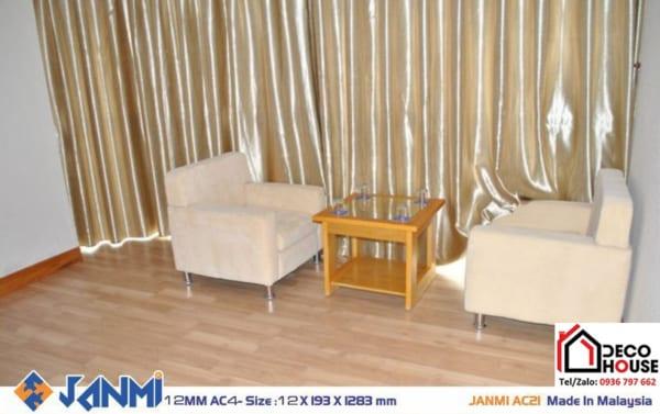 Sàn gỗ công nghiệp Janmi AC21 12mm