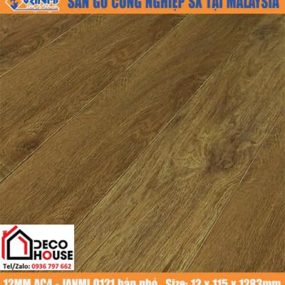Sàn gỗ Janmi 12mm O121