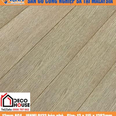 Sàn gỗ công Janmi 12mm O122