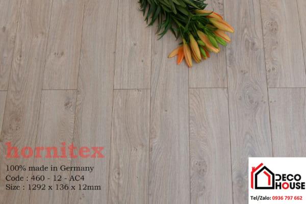 Sàn gỗ Hornitex 12mm 460