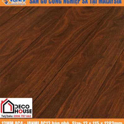 Sàn gỗ công Janmi 12mm AC12