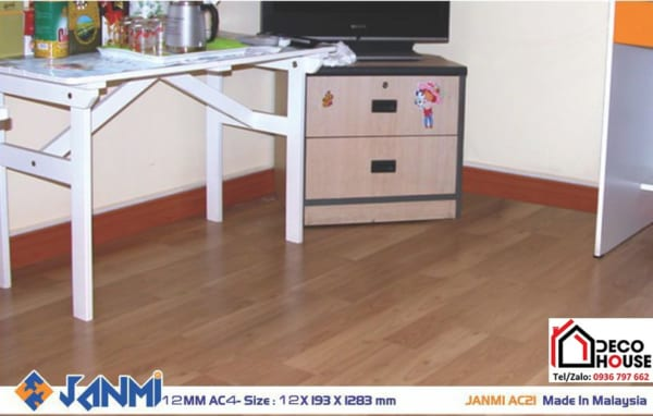 Sàn gỗ Janmi AC21 12mm