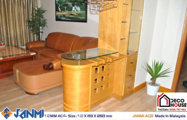Sàn gỗ Janmi AC21 chịu nước