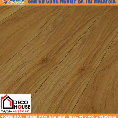 Sàn gỗ công Janmi 12mm AC11