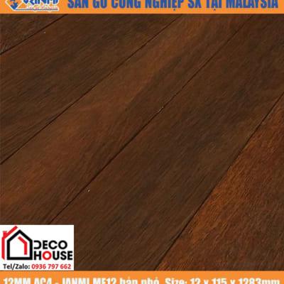 Sàn gỗ Janmi 12mm ME12