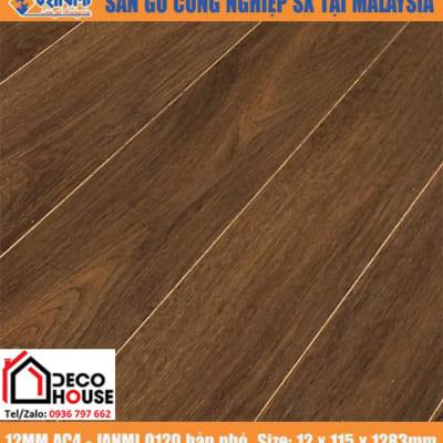 Sàn gỗ công Janmi 12mm O120