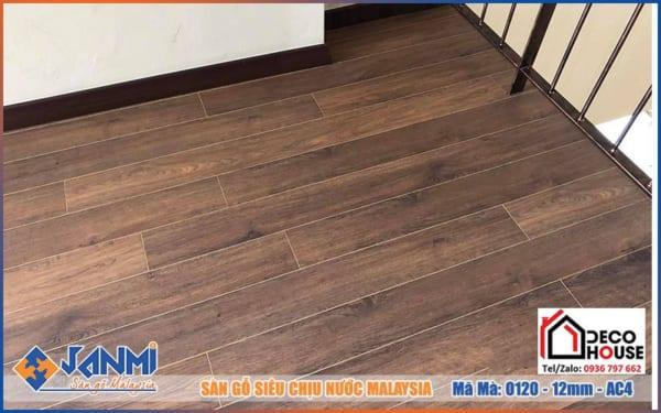 Decohouse bán Sàn gỗ Janmi 12mm O120 chính hãng