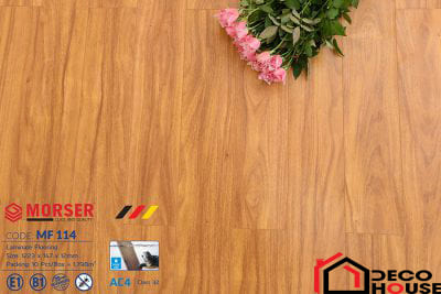 Sàn gỗ Morser 12mm cốt trắng MF 114