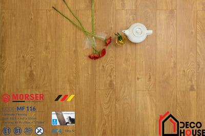 Sàn gỗ Morser 12mm cốt trắng MF 116