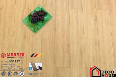 Sàn gỗ Morser 12mm cốt trắng MF 117