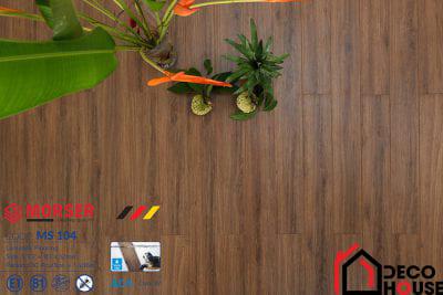 Sàn gỗ Morser 12mm cốt xanh MS 104