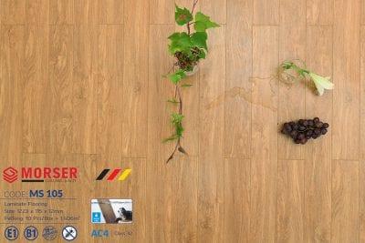 Sàn gỗ Morser 12mm cốt xanh MS 105