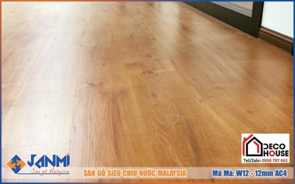 Ván sàn gỗ Janmi W12 12mm