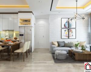 Lưu ý khi lát sàn gỗ chung cư, căn hộ hiện đại