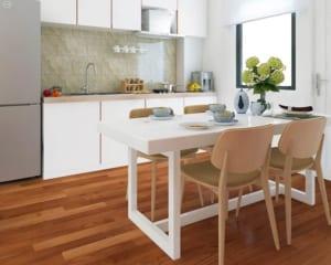 Nên chọn sàn gỗ công nghiệp cho phòng bếp như thế nào?