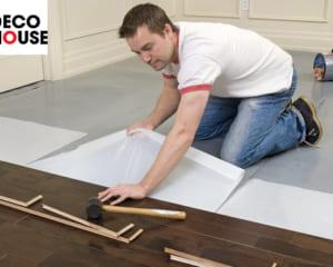 Hướng dẫn thi công sàn gỗ công nghiệp đúng cách