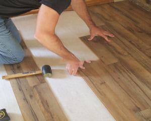 Cách thi công sàn nhựa giả gỗ đơn giản