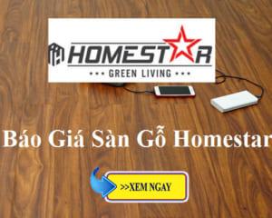Báo giá sàn gỗ Homestar