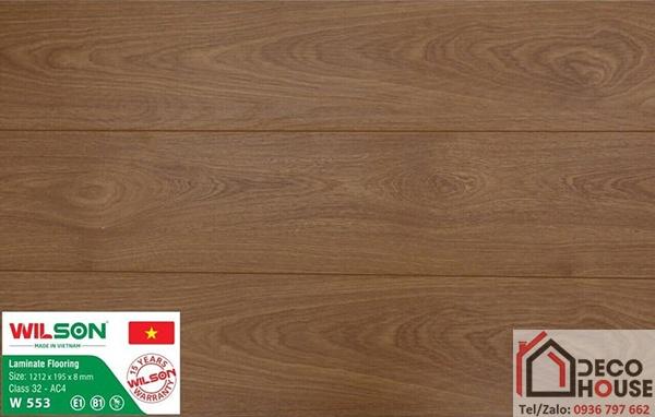 Sàn gỗ Wilson 8mm W553