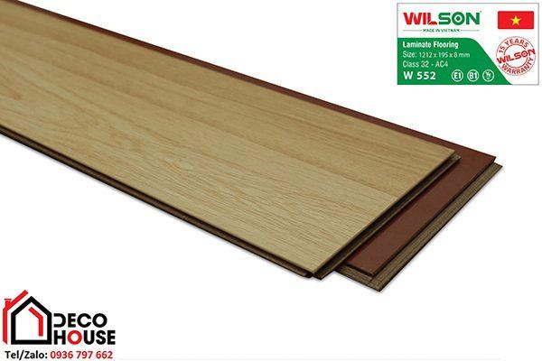 Sàn gỗ Việt Nam Wilson W552
