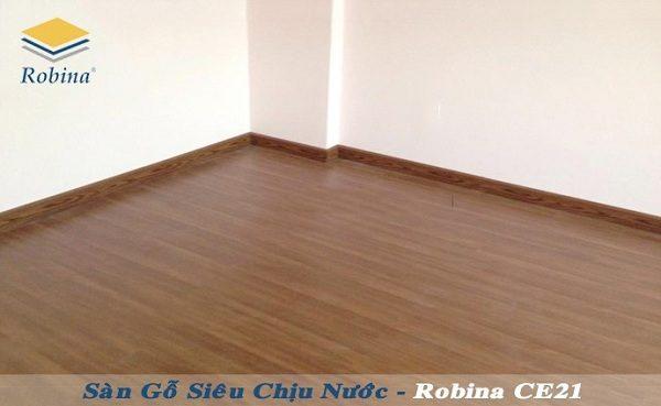 Sàn gỗ công nghiệp Robina Ce21 siêu chịu nước