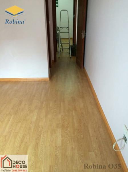 Sàn gỗ công nghiệp Robina O35 - Sàn gỗ Malaysia chất lượng