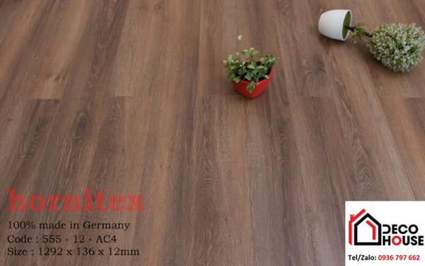 Báo giá sàn gỗ công nghiệp Hornitex Đức