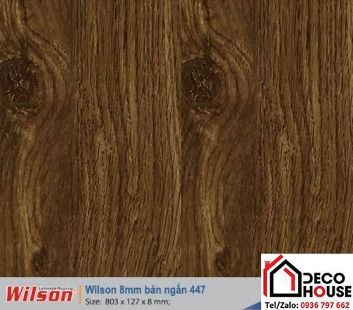 Sàn gỗ Wilson 8mm 447