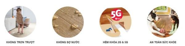 Ưu điểm nổi bật sàn gỗ công nghiệp Hornitex Đức